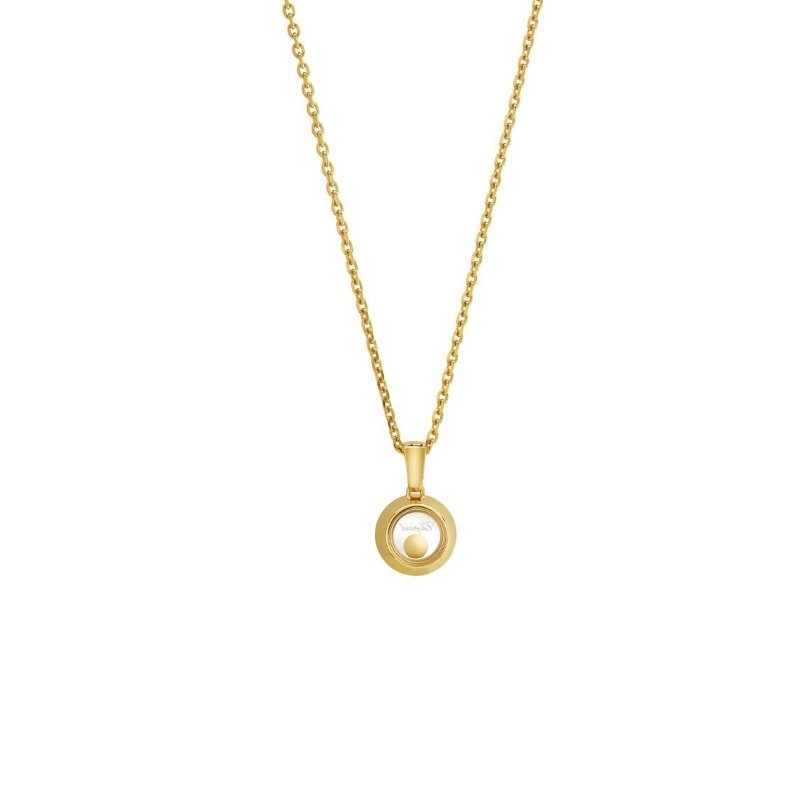 Collier Chopard Happy Diamonds Icons en or jaune vue 4