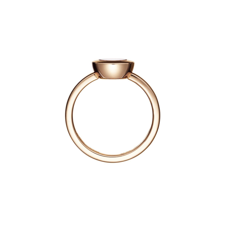 Bague Chopard Happy Diamonds Icons en or rose et diamant vue 3