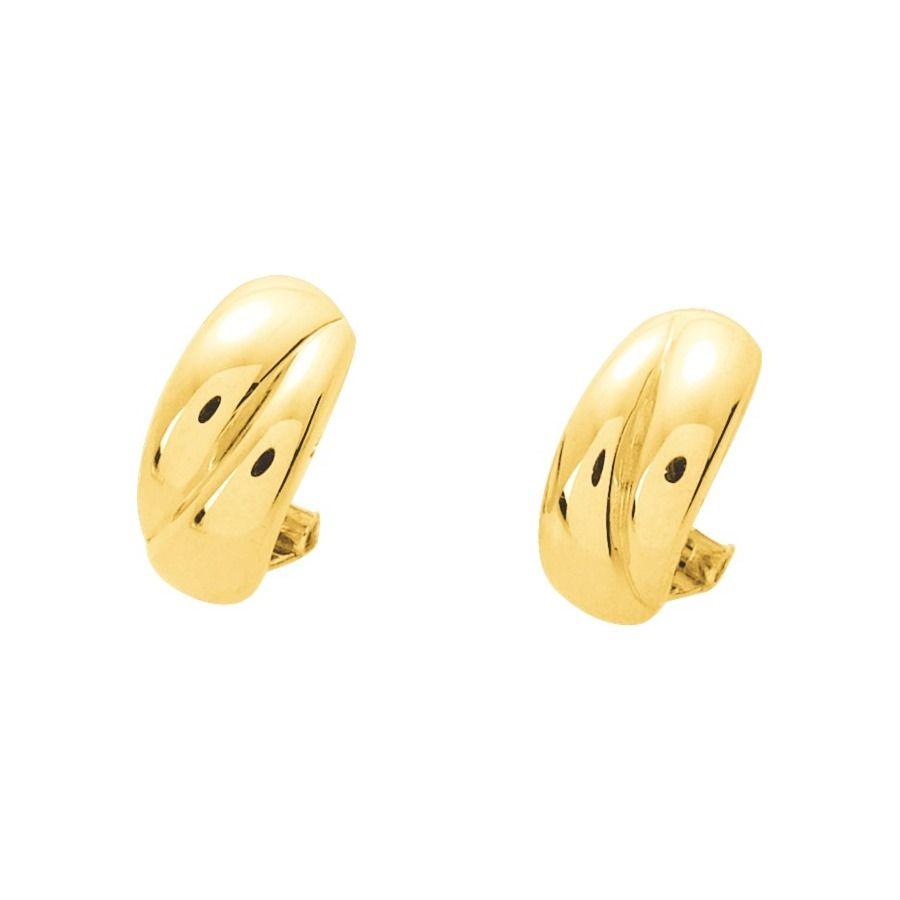 Boucles d'oreilles clips en or jaune