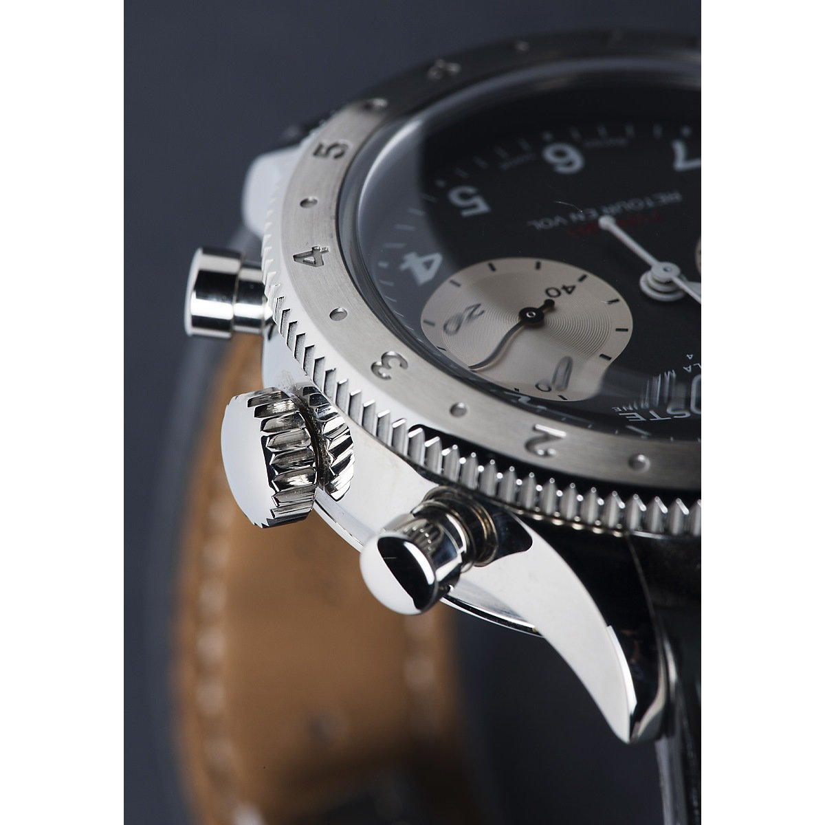 Montre Auricoste Type 20  FlyBack 42mm A20AP vue 2
