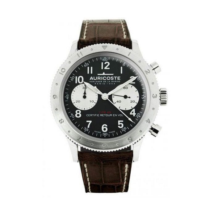 Montre Auricoste Type 20  FlyBack 42mm A20AP vue 1