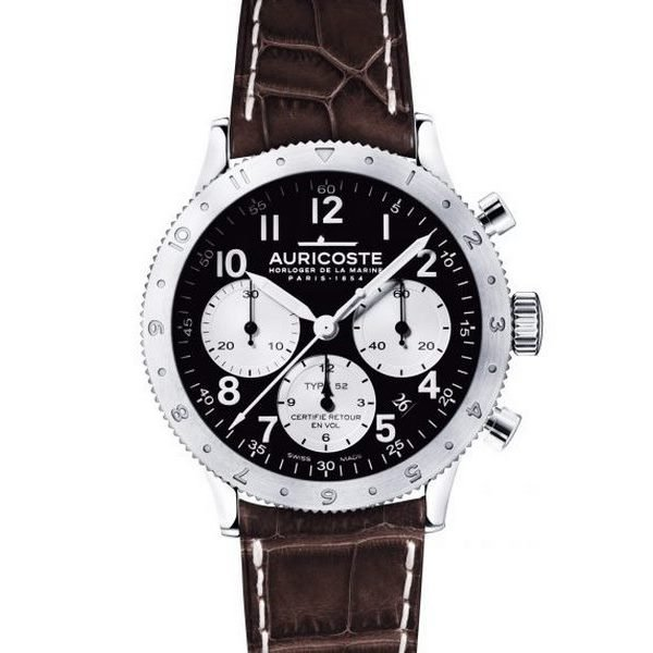 Montre Auricoste Type 52 FlyBack 42mm A52AP
