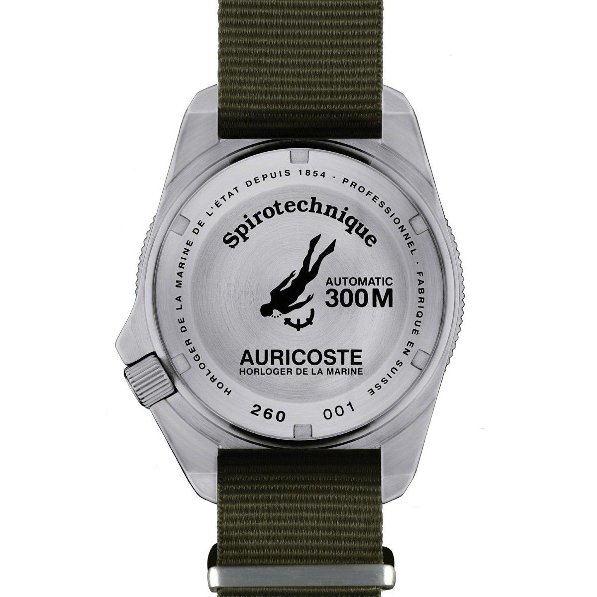 Montre Auricoste Spirotechnique 42mm 300m A9102 vue 2
