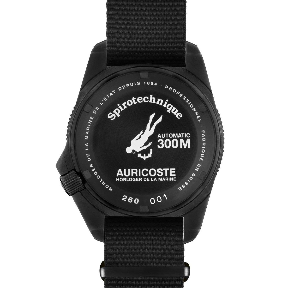 Montre Auricoste Spirotechnique 42mm 300m A9201 vue 2