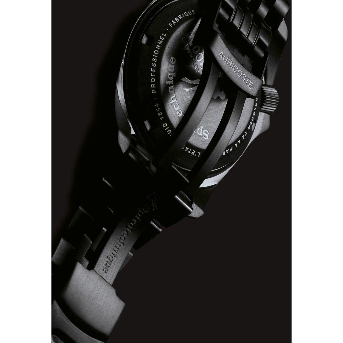 Montre Auricoste Spirotechnique 42mm 300m A9211 vue 2