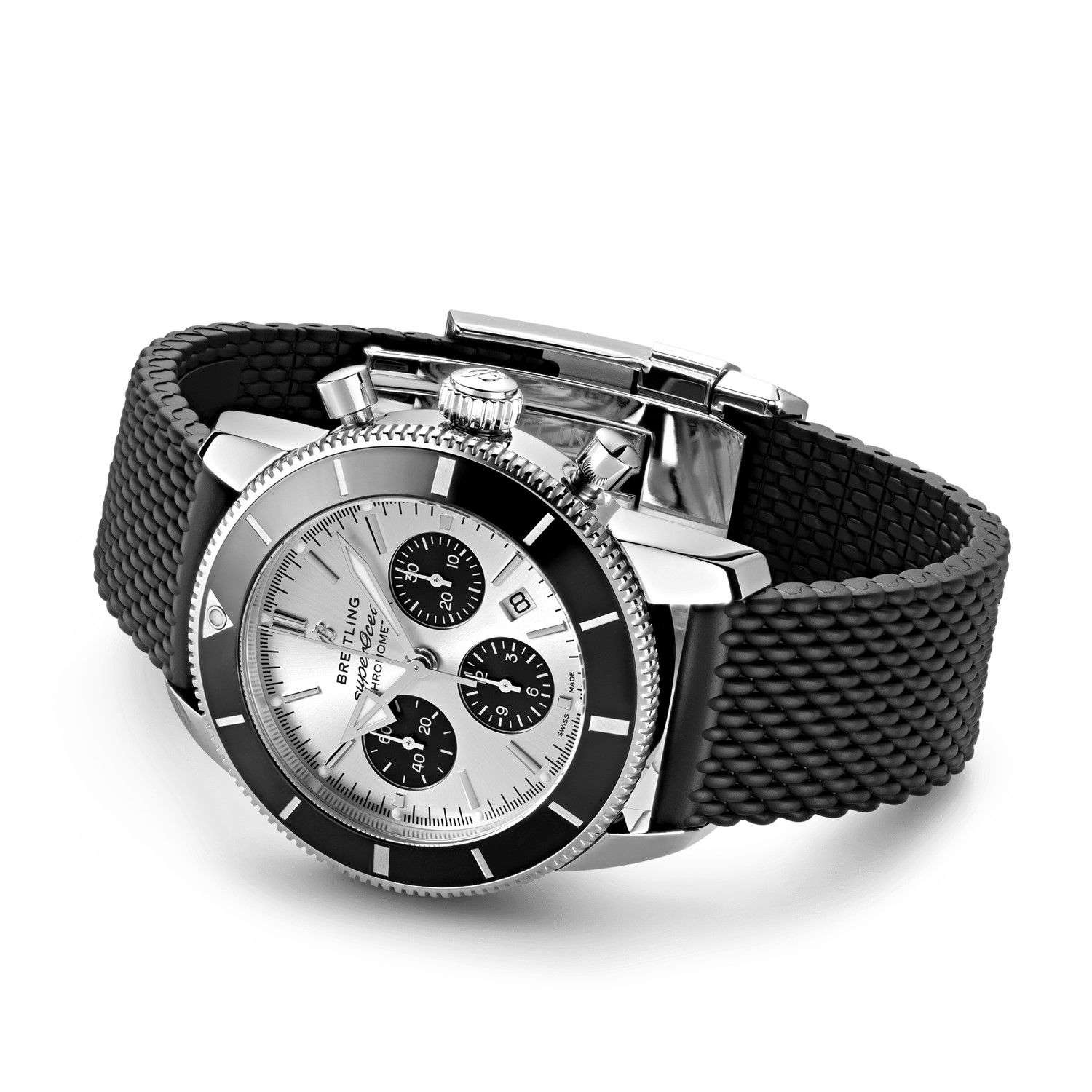 Montre Breitling Superocean Héritage II B01 Chronograph 44 vue 2