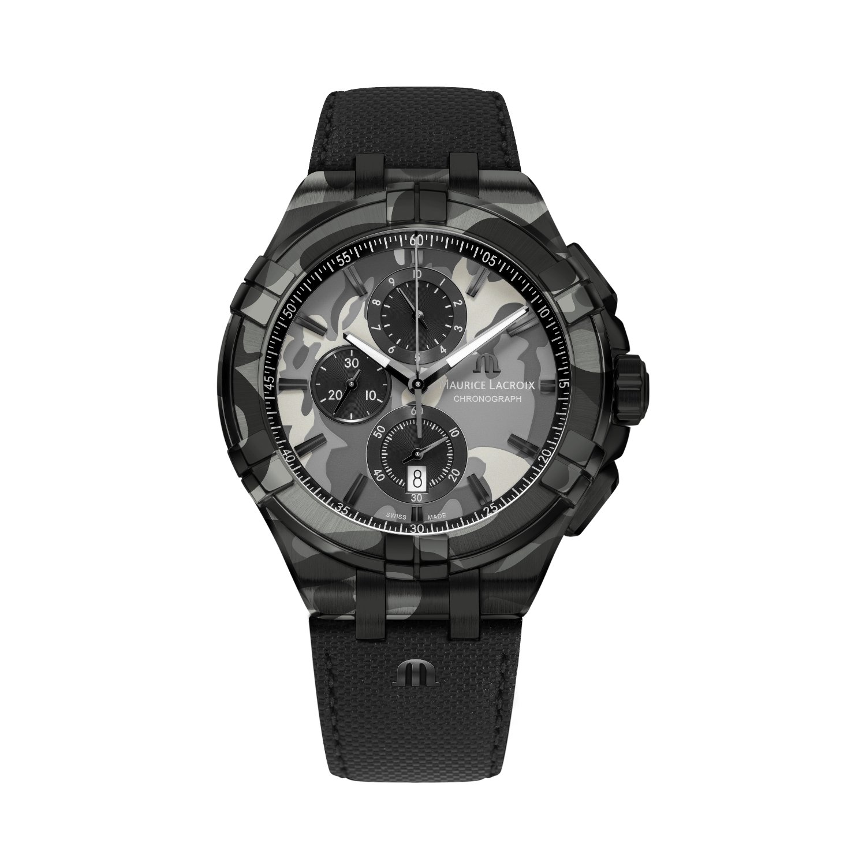 Montre Maurice Lacroix Aikon Chronograph Limited Edition AI1018-PVB02-336-1 vue 2