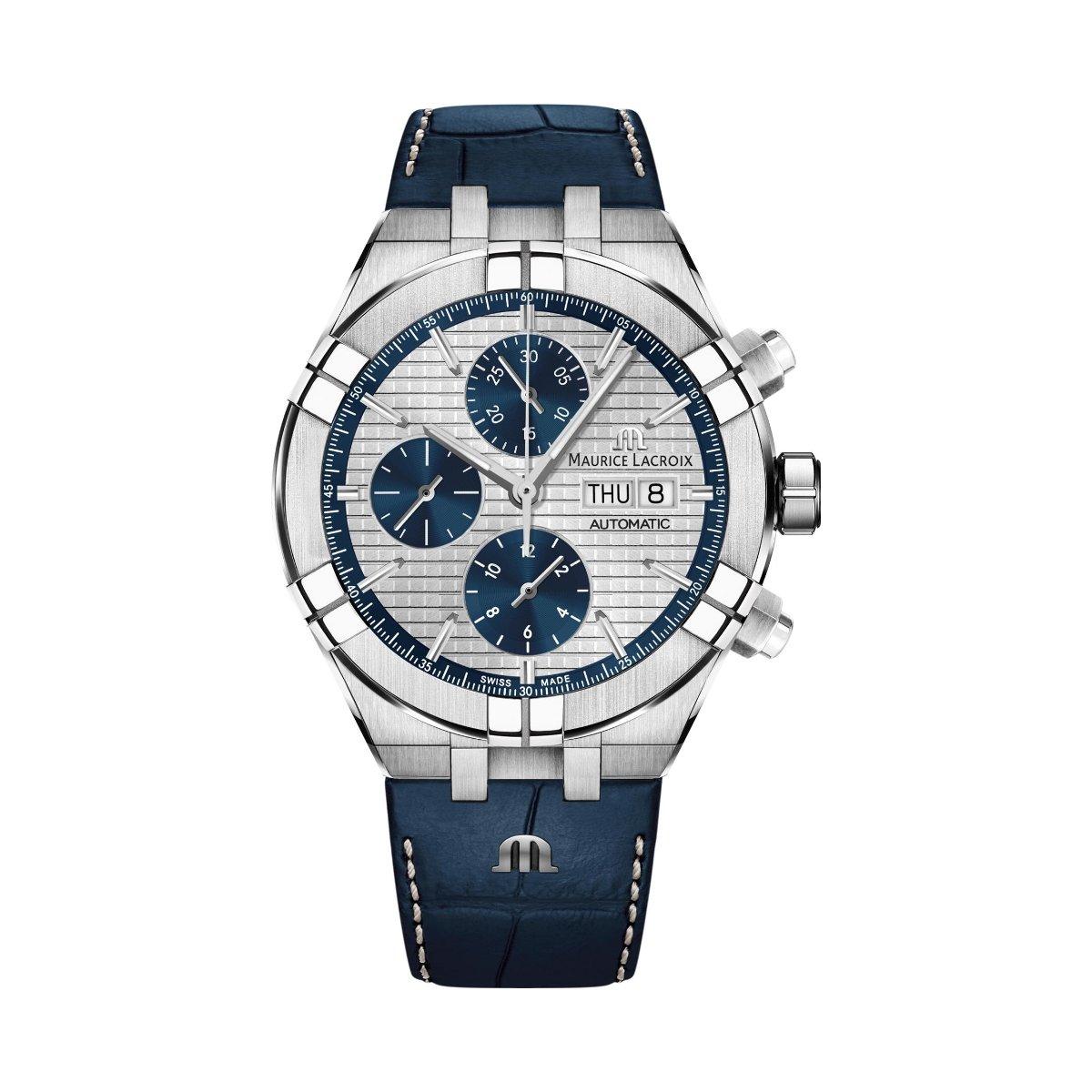 Chronographe 1 Montre Lacroix Aikon 131 Ai6038 Ss001 Maurice Automatique 3qj4L5AR