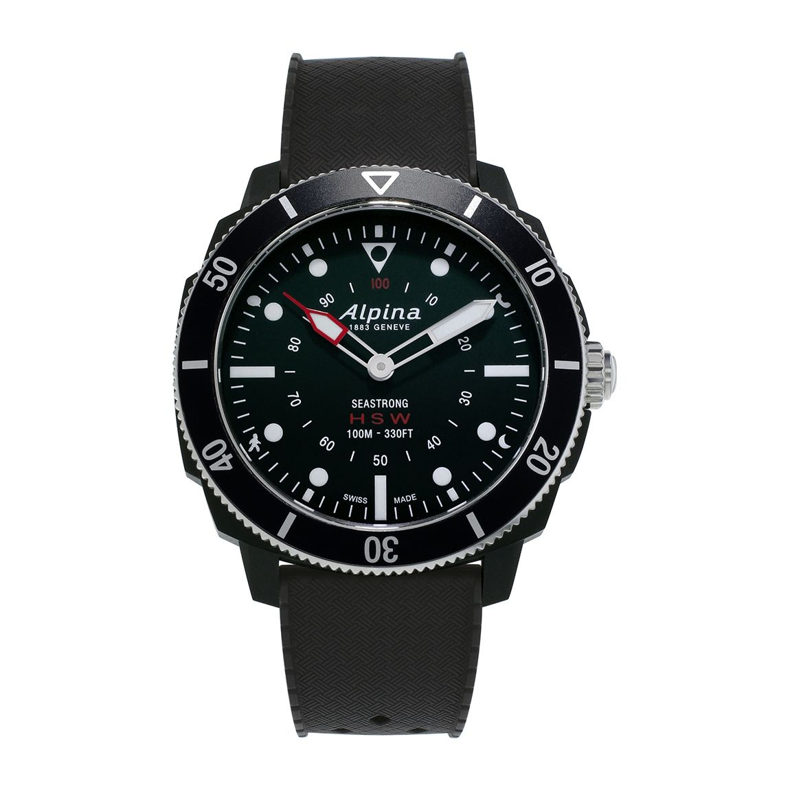 Montre Alpina Seastrong Horological Smartwatch vue 1