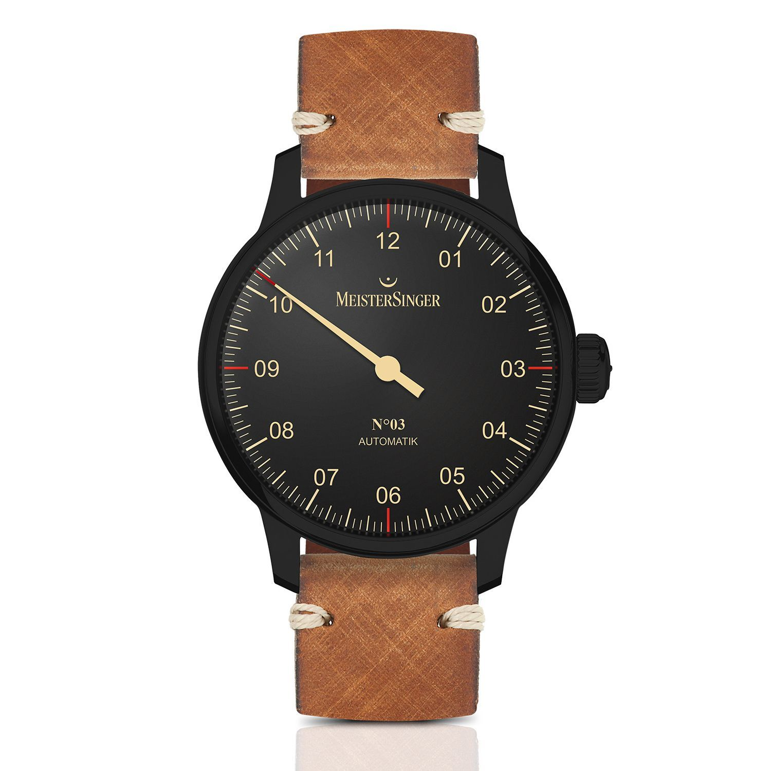 Montre MeisterSinger Black Line No.03 AM902BL