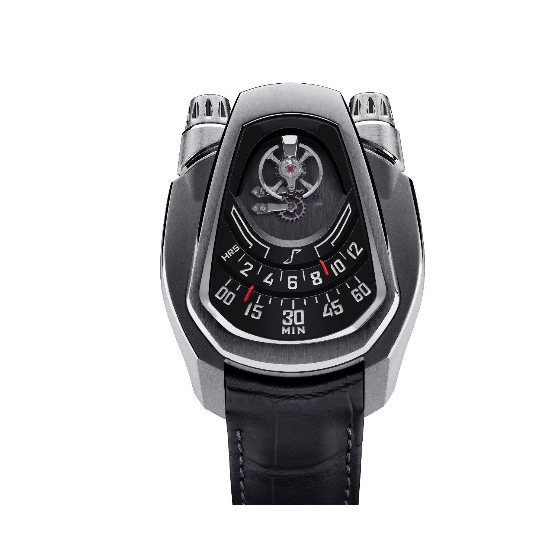 Montre Phenomen PH-01 Full Titanium Black Dial