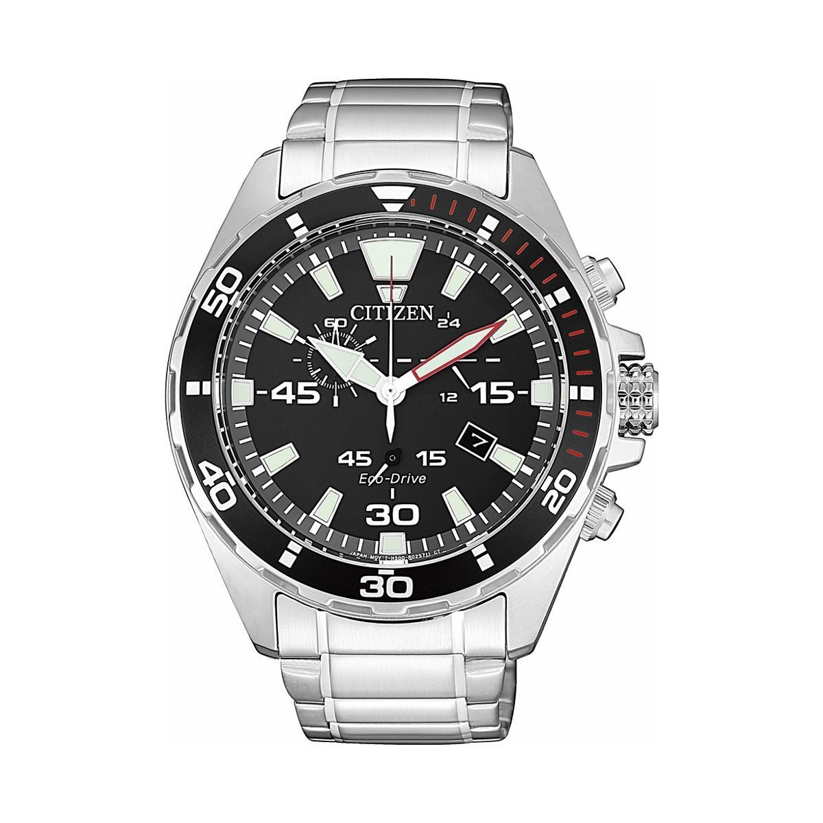 Montre Citizen Chrono Eco Drive AT2430-80E vue 1