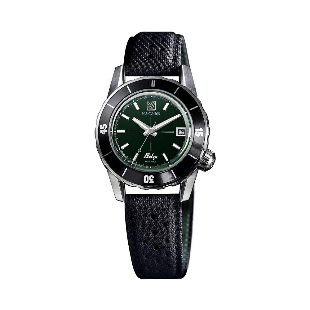 Montre March L.A.B Belza Automatic - Grall - Bracelet technique noir