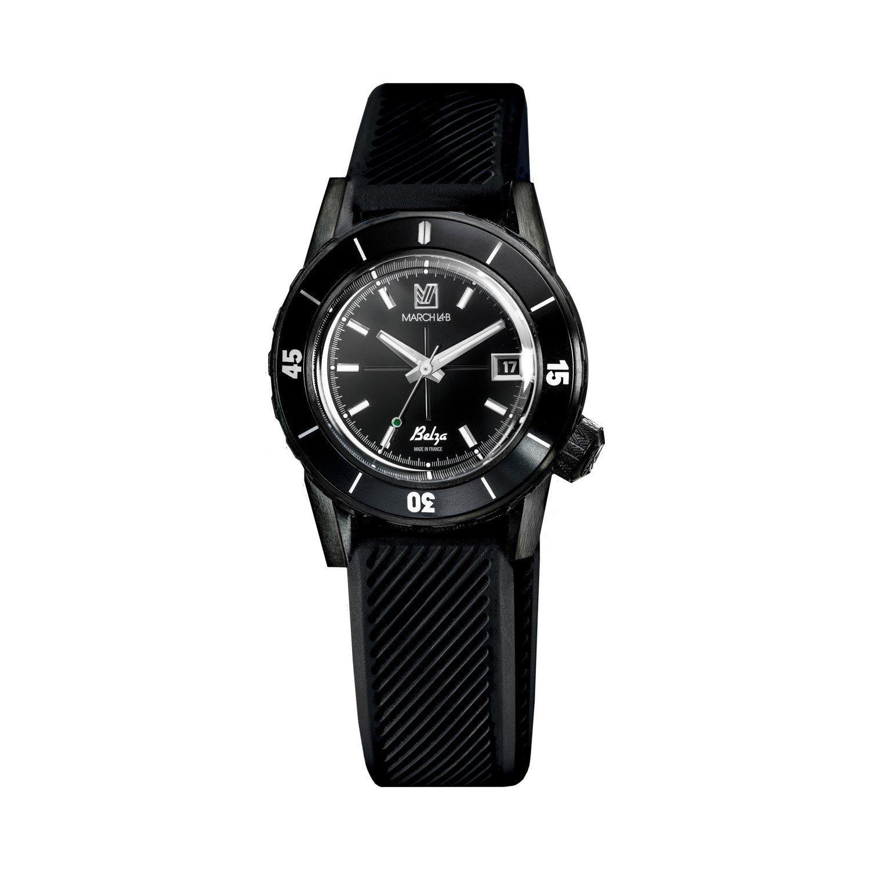 Montre March L.A.B Belza Automatique Shades - Bracelet silicone