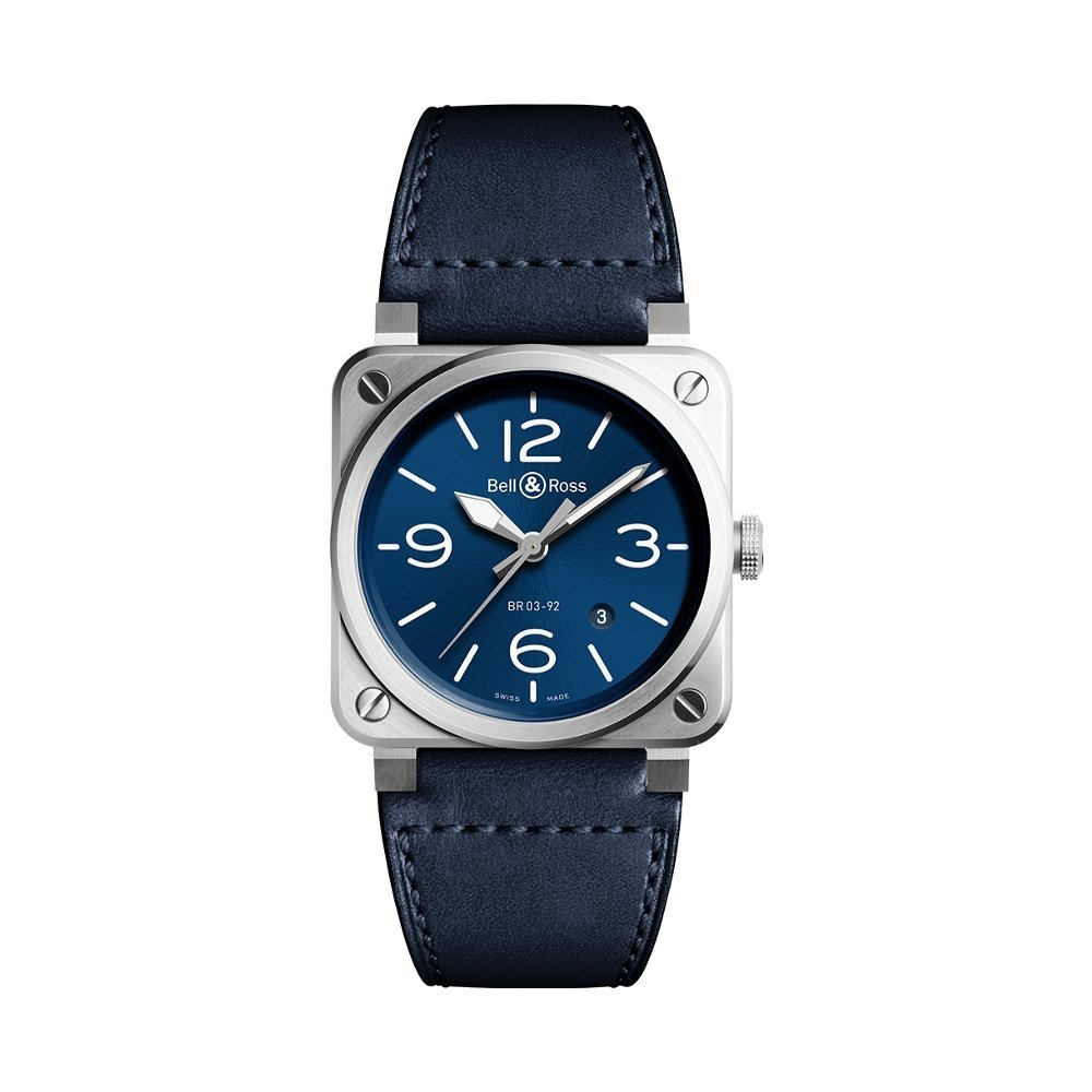 Montre Bell & Ross BR03-92 Blue Steel vue 1