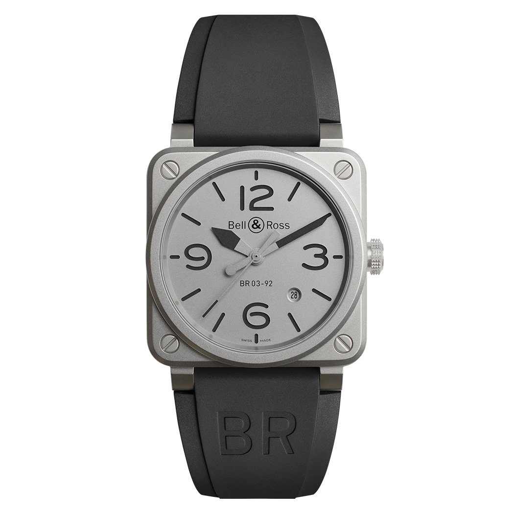 Montre Bell & Ross Instruments BR 03 (42mm) Horoblack