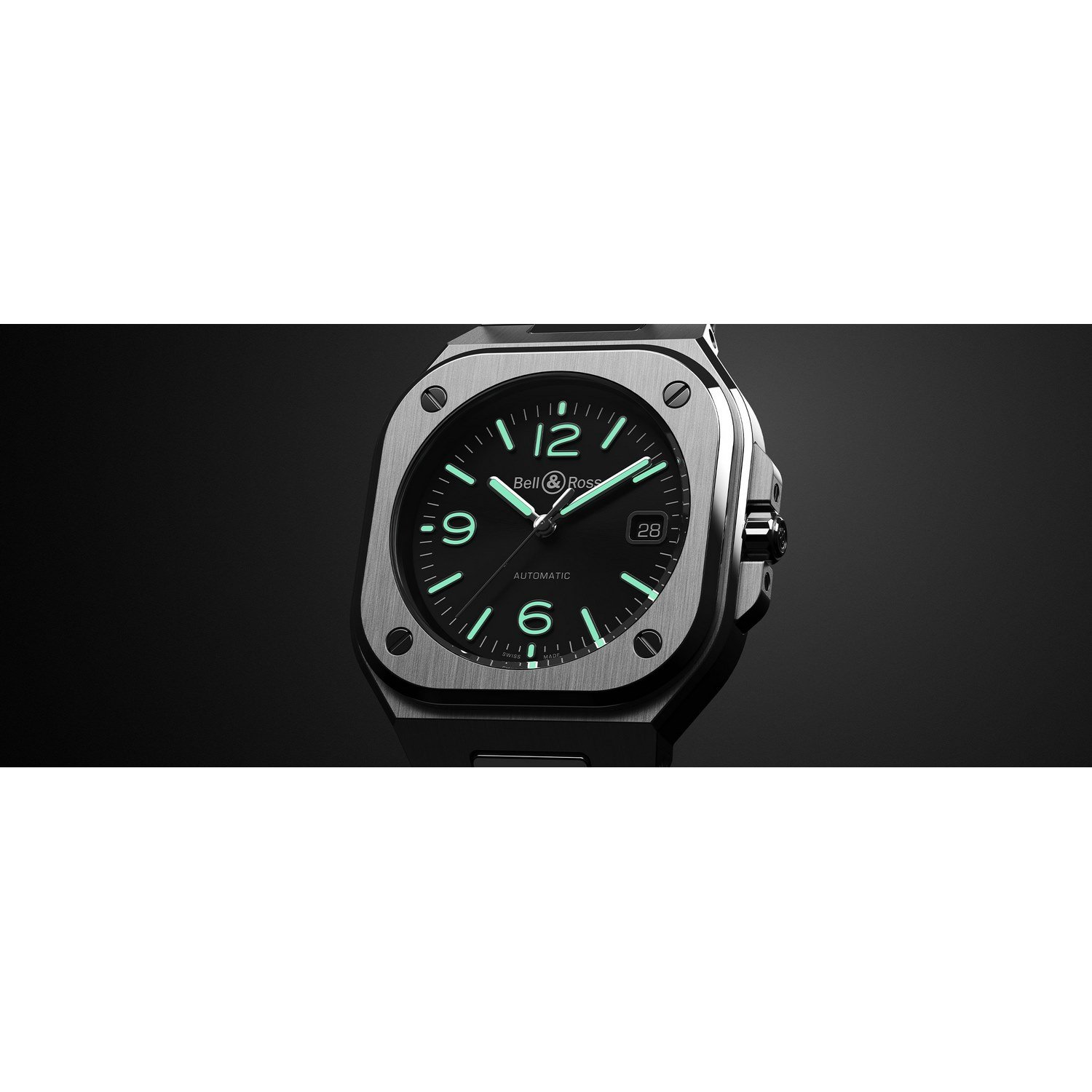 Montre Bell & Ross BR 05 Black Steel vue 6