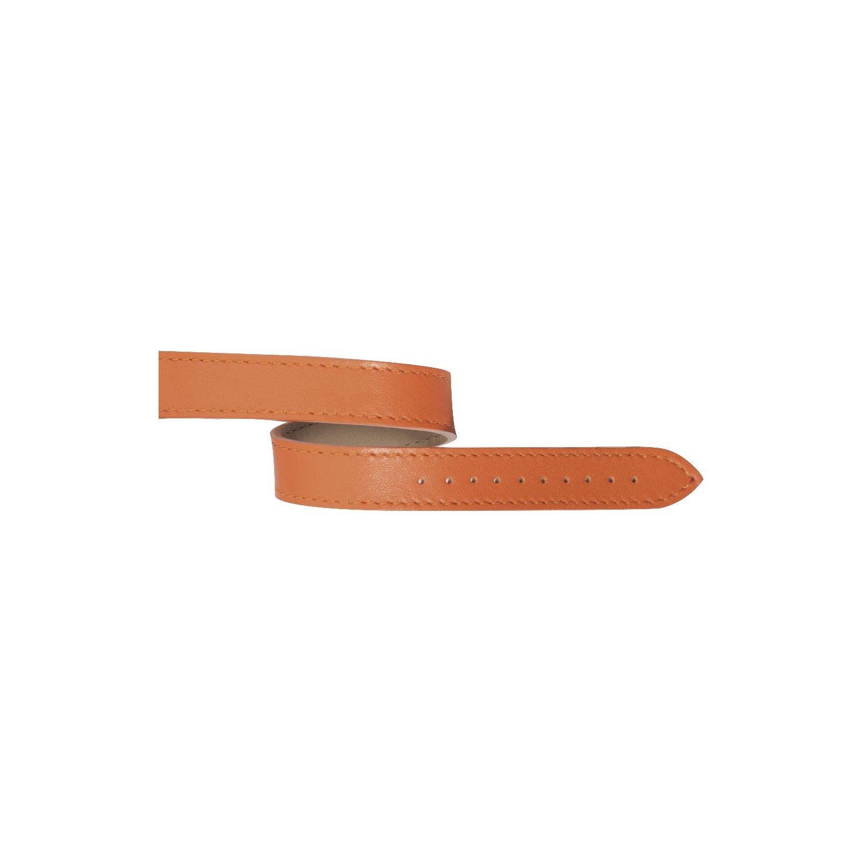 Bracelet Michel Herbelin Antarès en cuir nappa orange