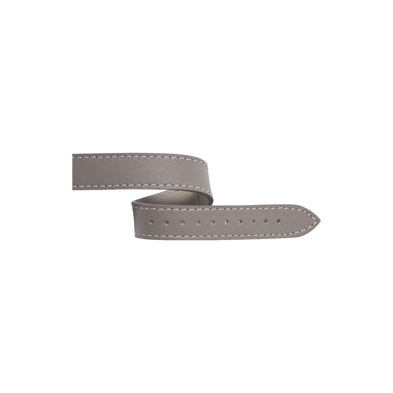 Bracelet Michel Herbelin Antarès en cuir gris taupe