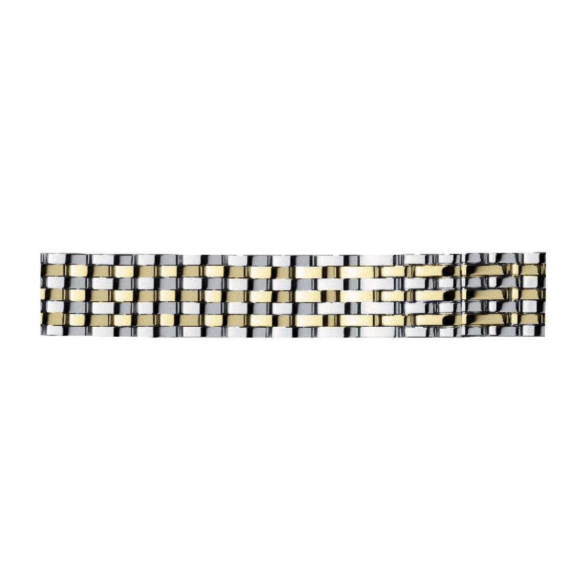 Bracelet Michel Herbelin Antarès en acier et plaqué or jaune