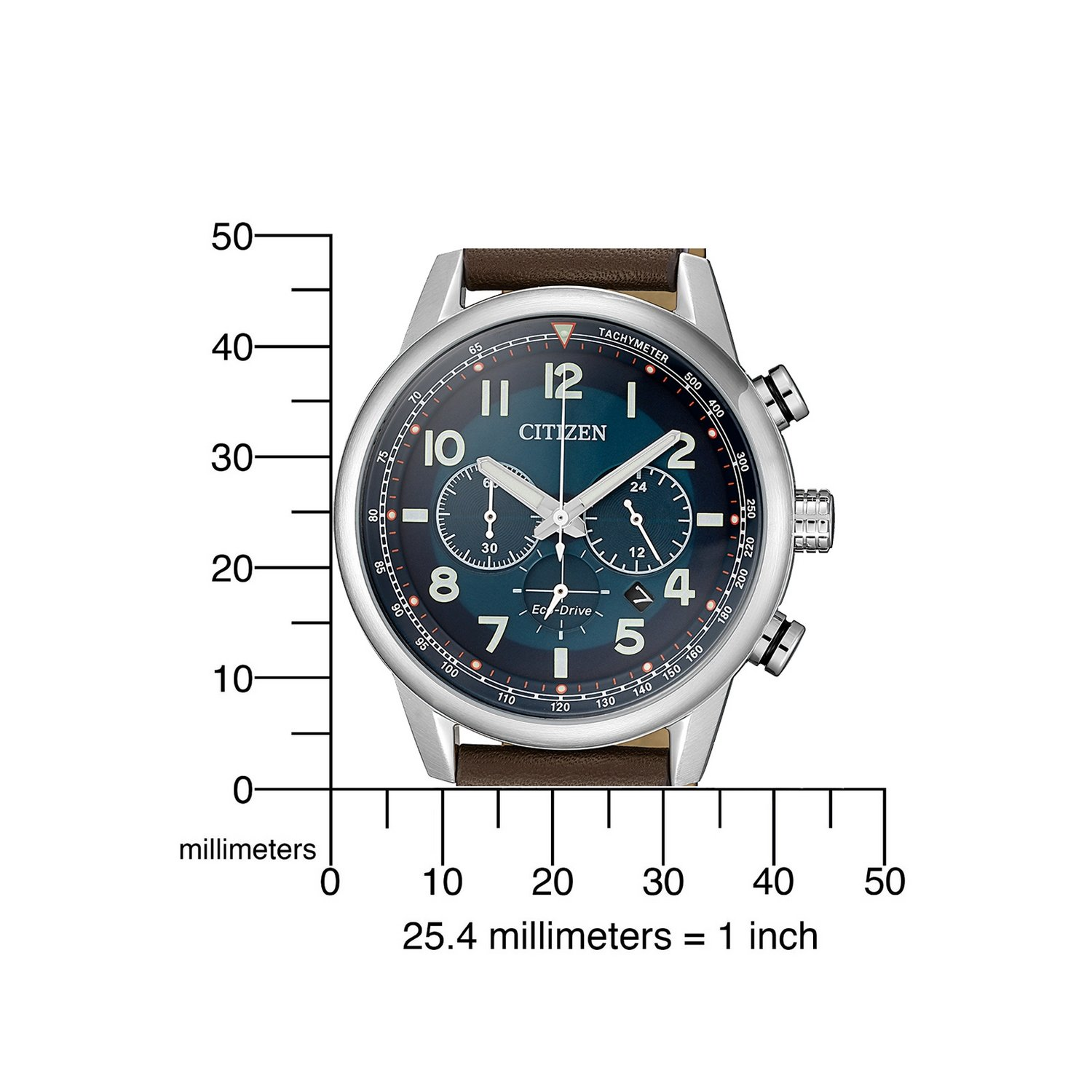 Montre Citizen Chrono Eco Drive CA4420-13L vue 4