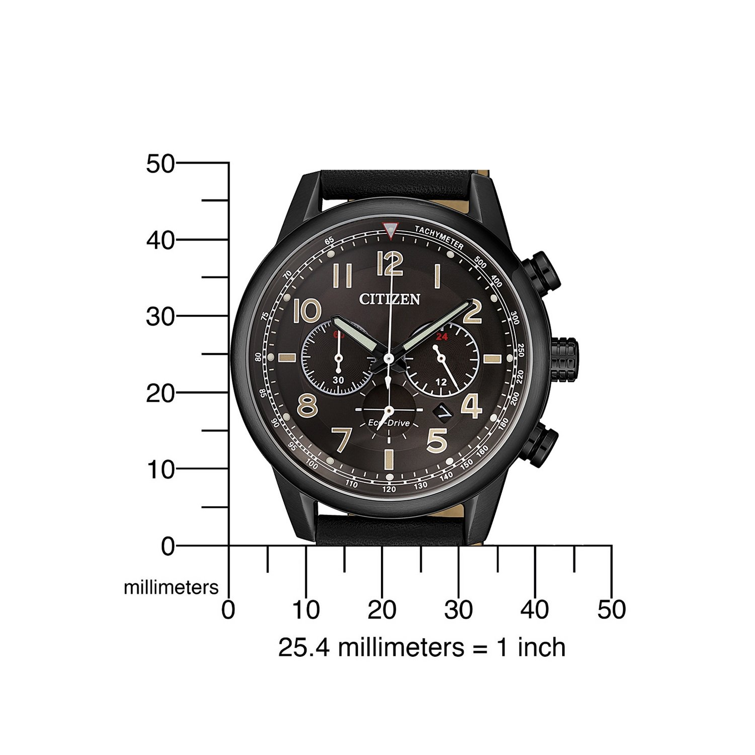 Montre Citizen Chrono Eco Drive CA4425-28E vue 4