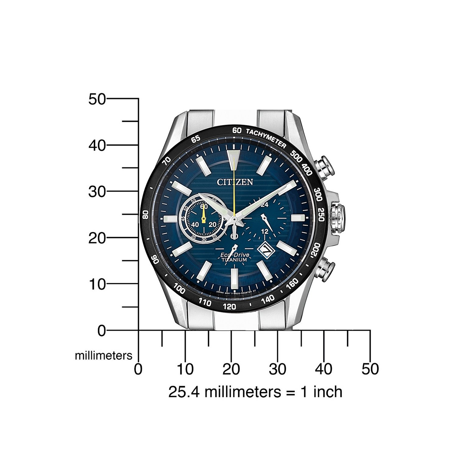 Montre Citizen Super Titanium Eco Drive CA4444-82L vue 4