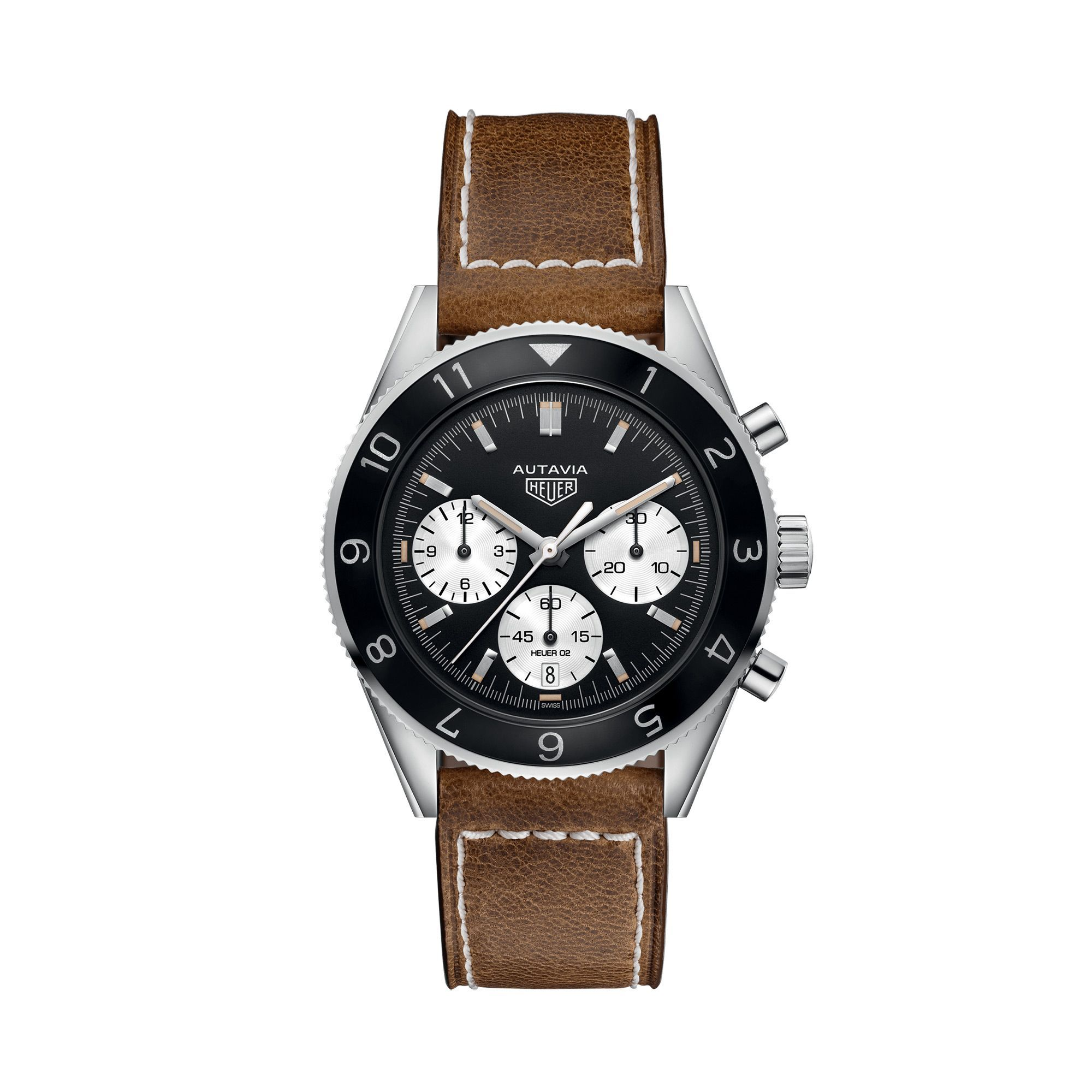 Montre TAG Heuer Heritage Calibre Heuer 02 Automatic Chronograph 42mm