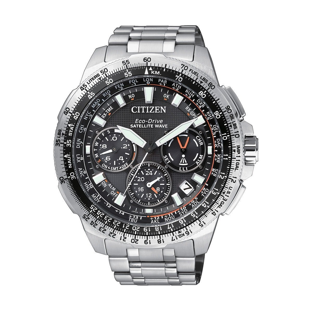 Montre Citizen Satellite Wave CC9020-54E