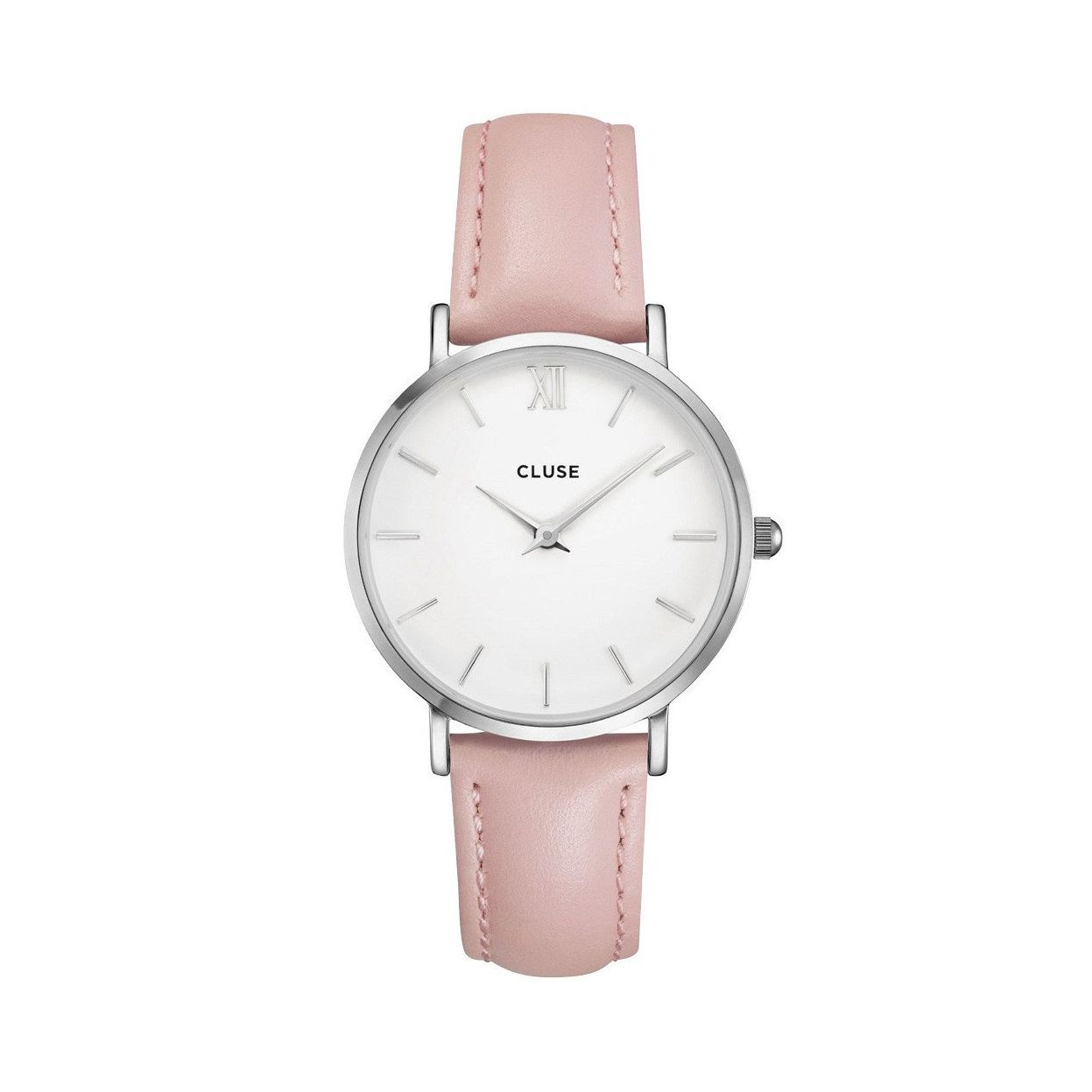 Montre Cluse Minuit Silver White/Pink