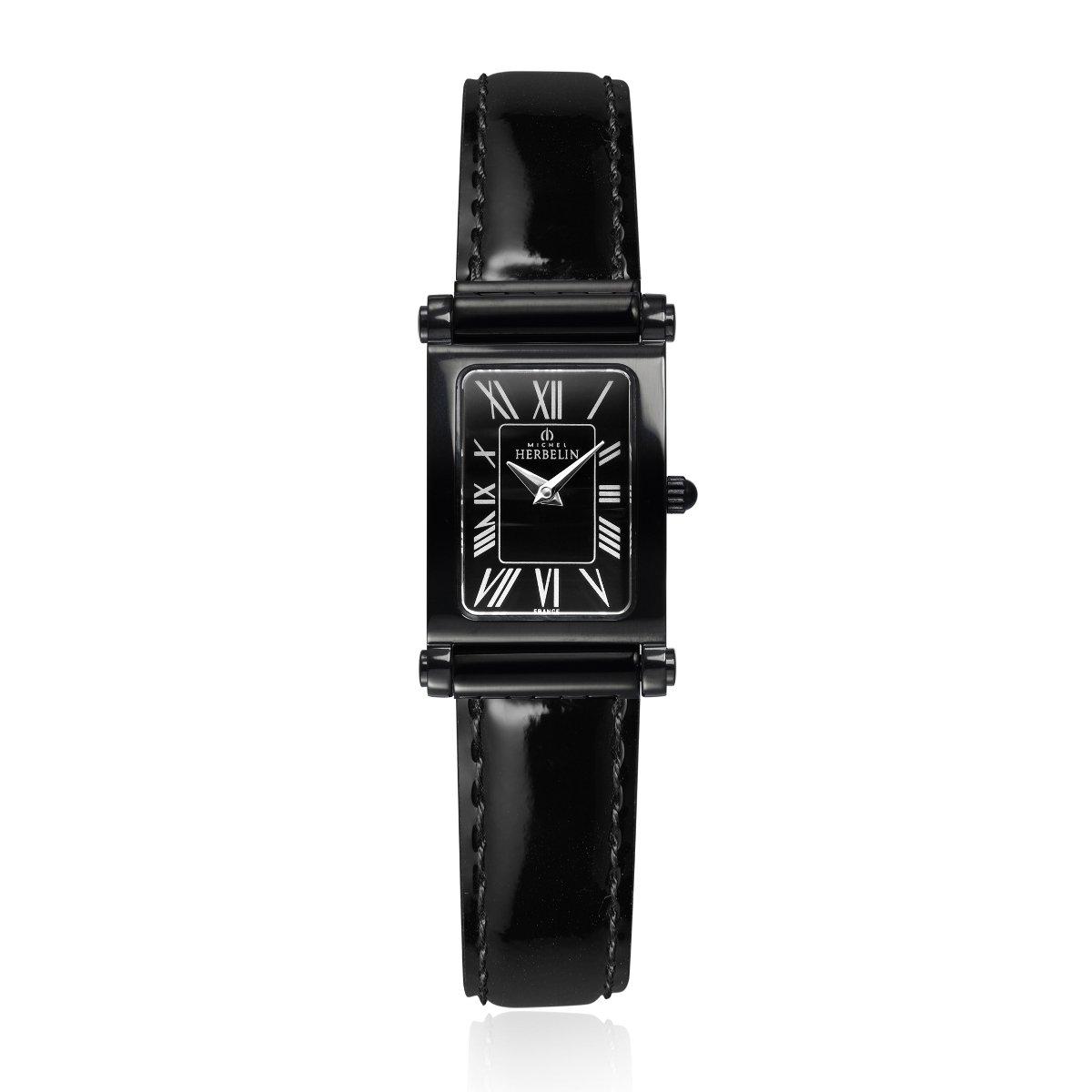 Coffret de montre Michel Herbelin Antarès Rock Chic Edition, bracelet acier et cuir vue 4