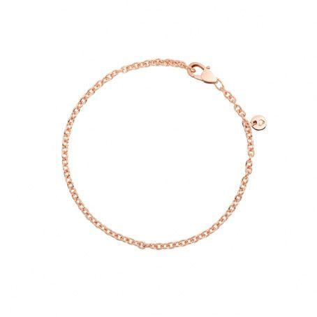 Bracelet DoDo en Or rose longueur 18cm
