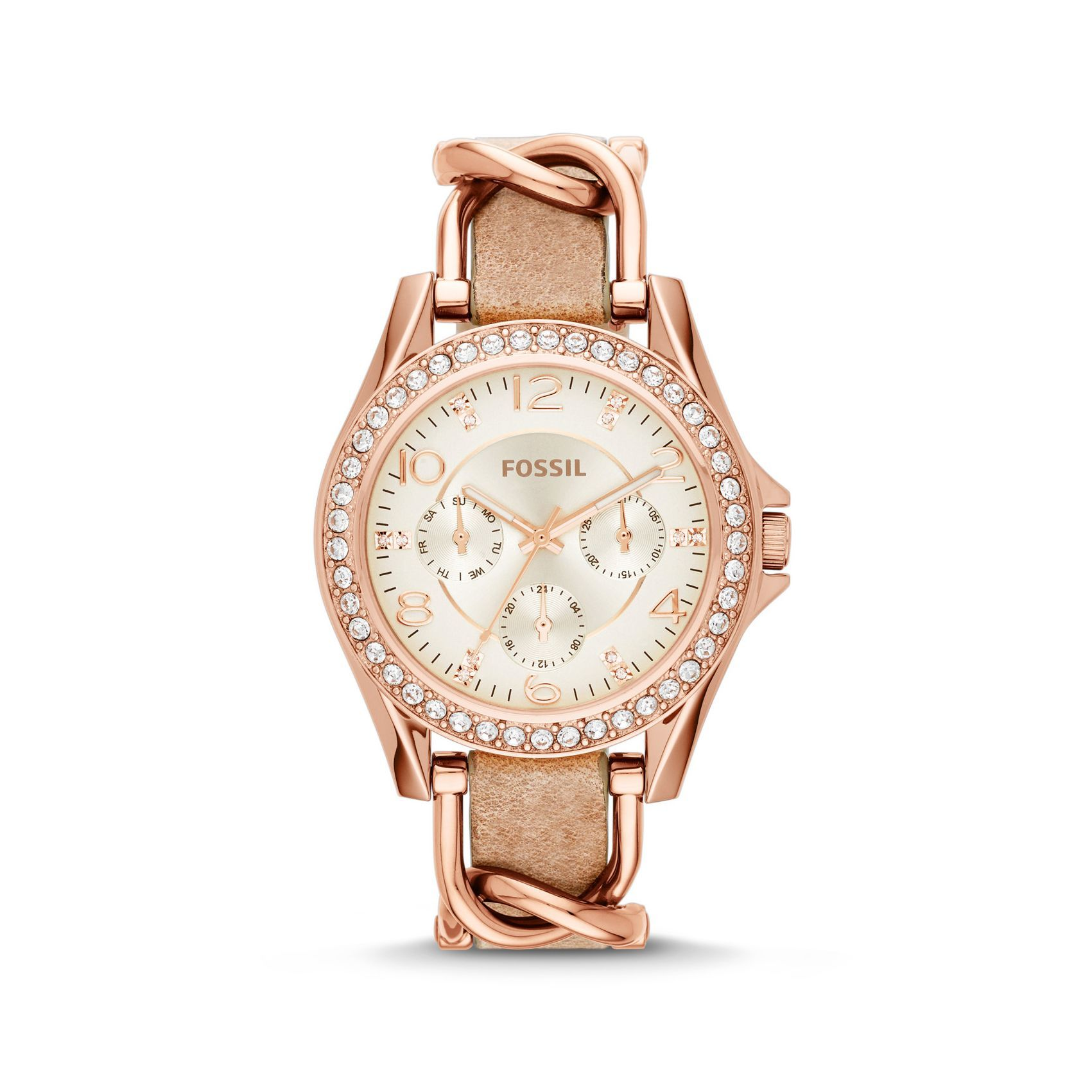 Fossil Riley Multifunction vue 1