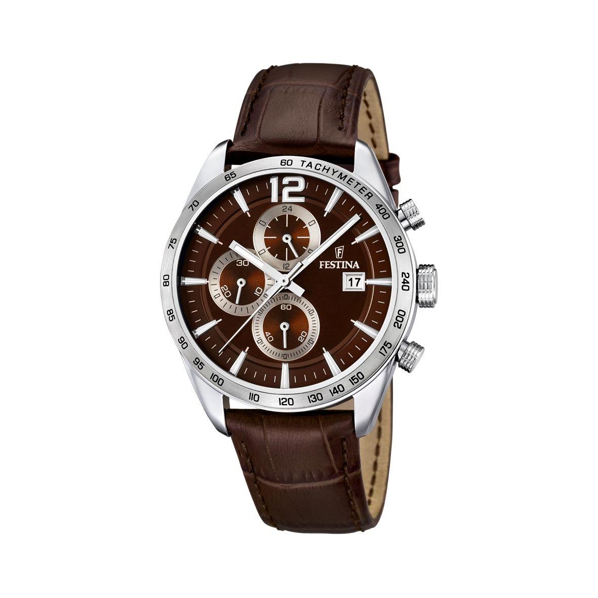 Montre Festina Timeless Chronograph F16760/2 vue 1
