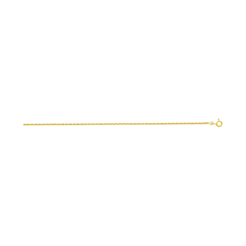 Chaîne 40cm en or jaune