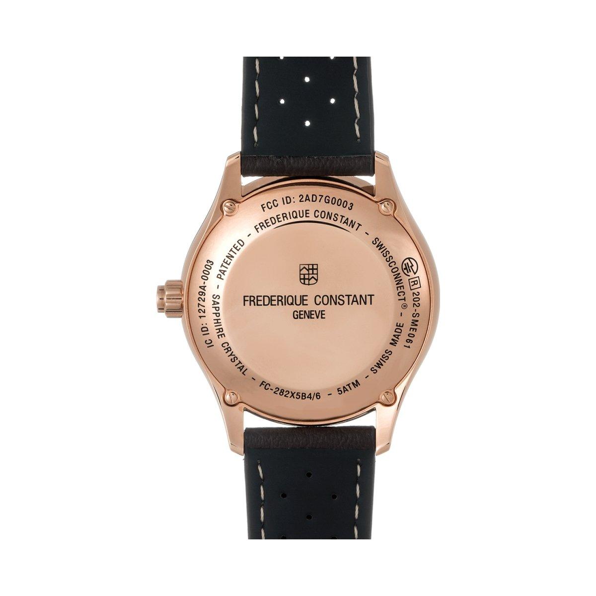 Montre Frédérique Constant Horological Smartwatch FC-285LGS5B4 vue 2