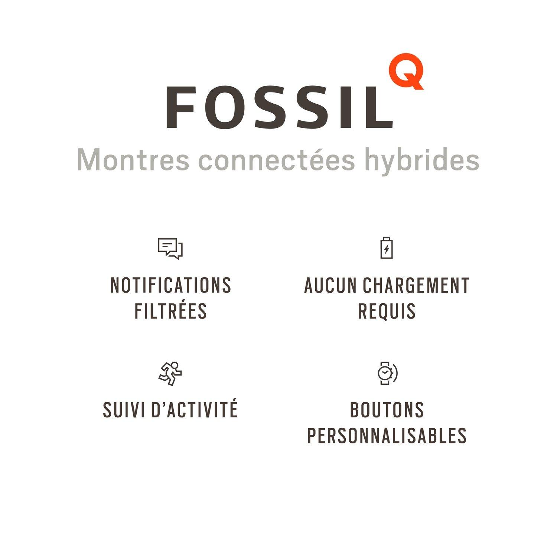 Montre connectée FOSSIL Q Grant FTW1122 vue 5