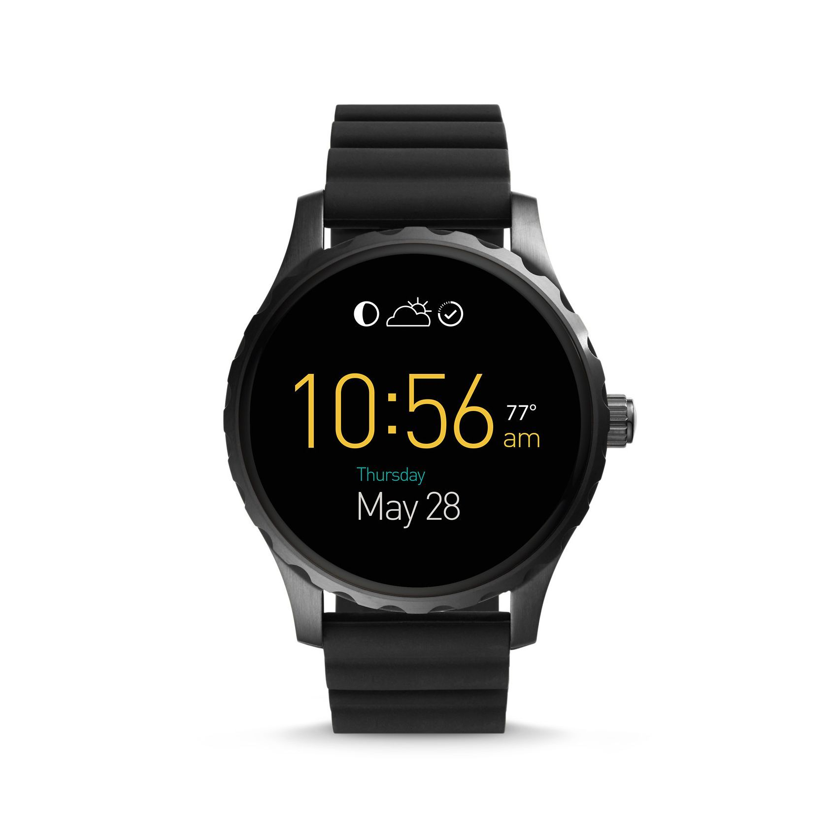 Fossil Q Marshal Smartwatch vue 1
