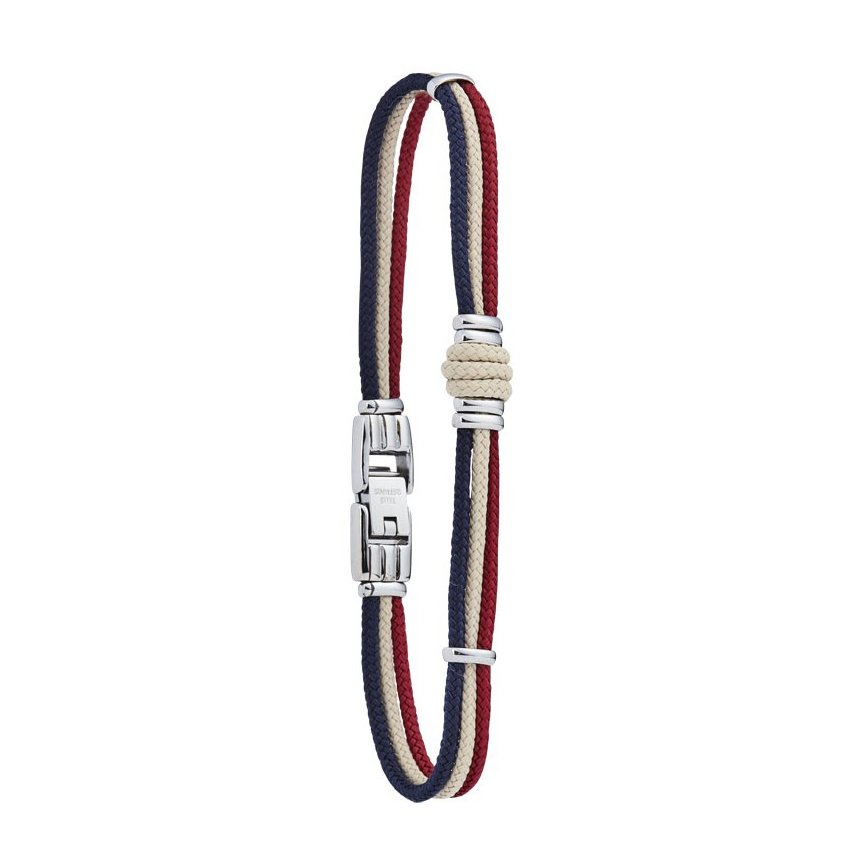 Bracelet sur cordon Jourdan Bijoux Whitehaven en acier