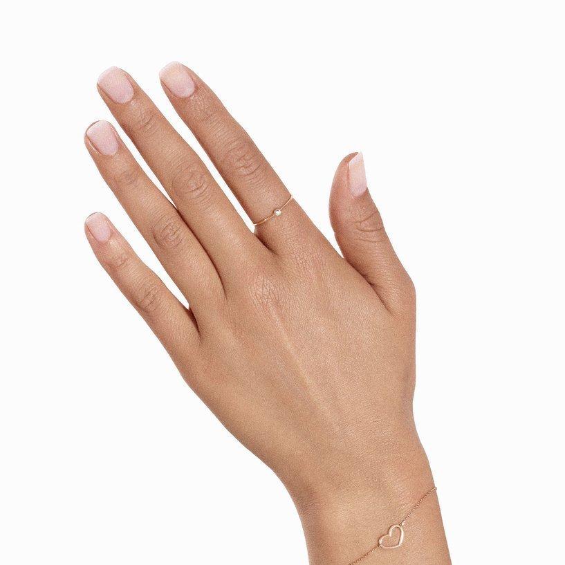 Bracelet Vanrycke Angie en or rose vue 3
