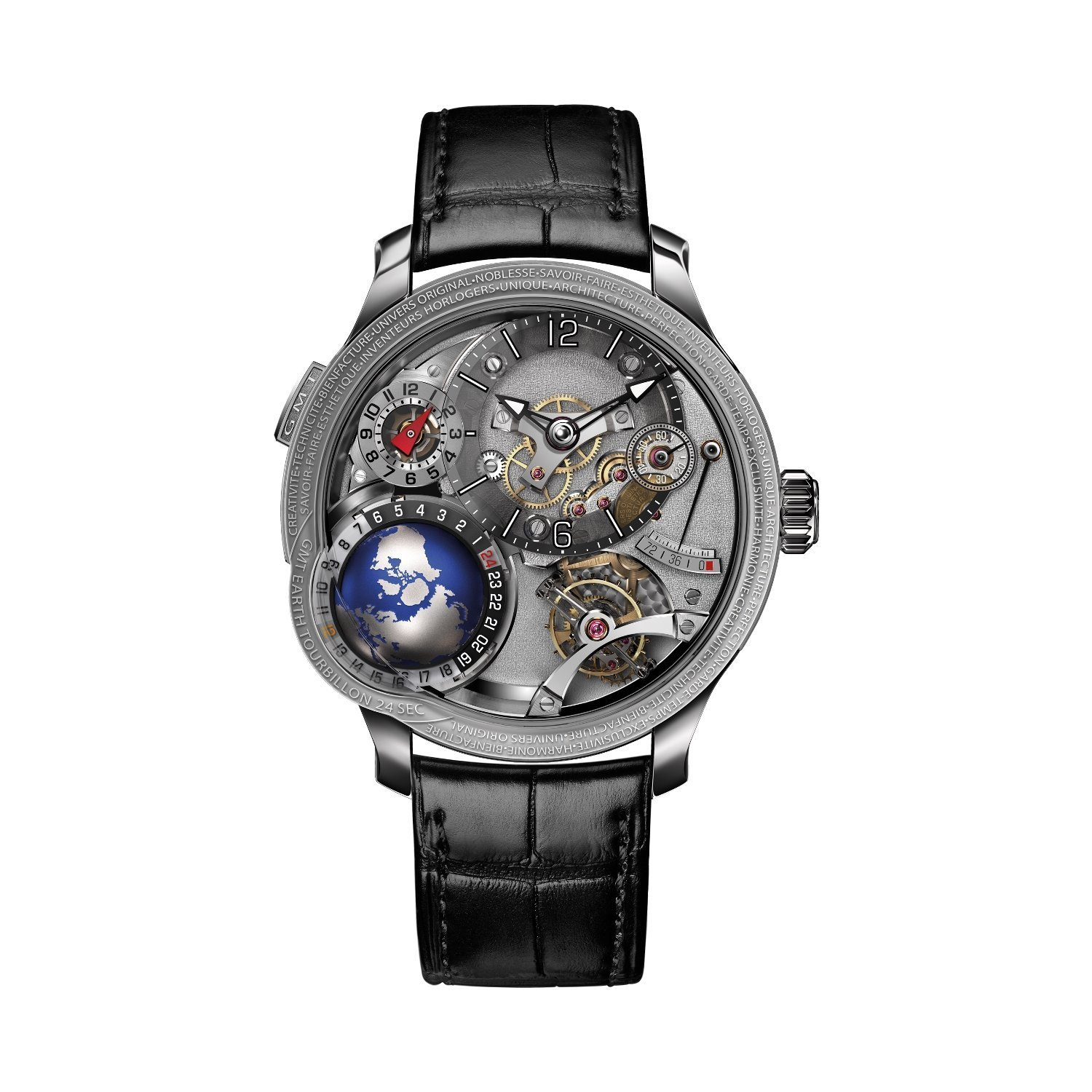 Montre Greubel Forsey GMT Earth vue 1
