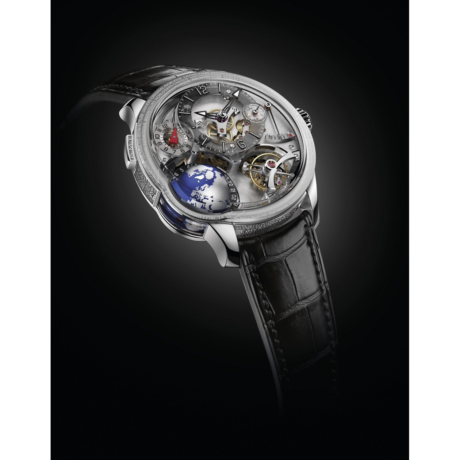 Montre Greubel Forsey GMT Earth vue 2