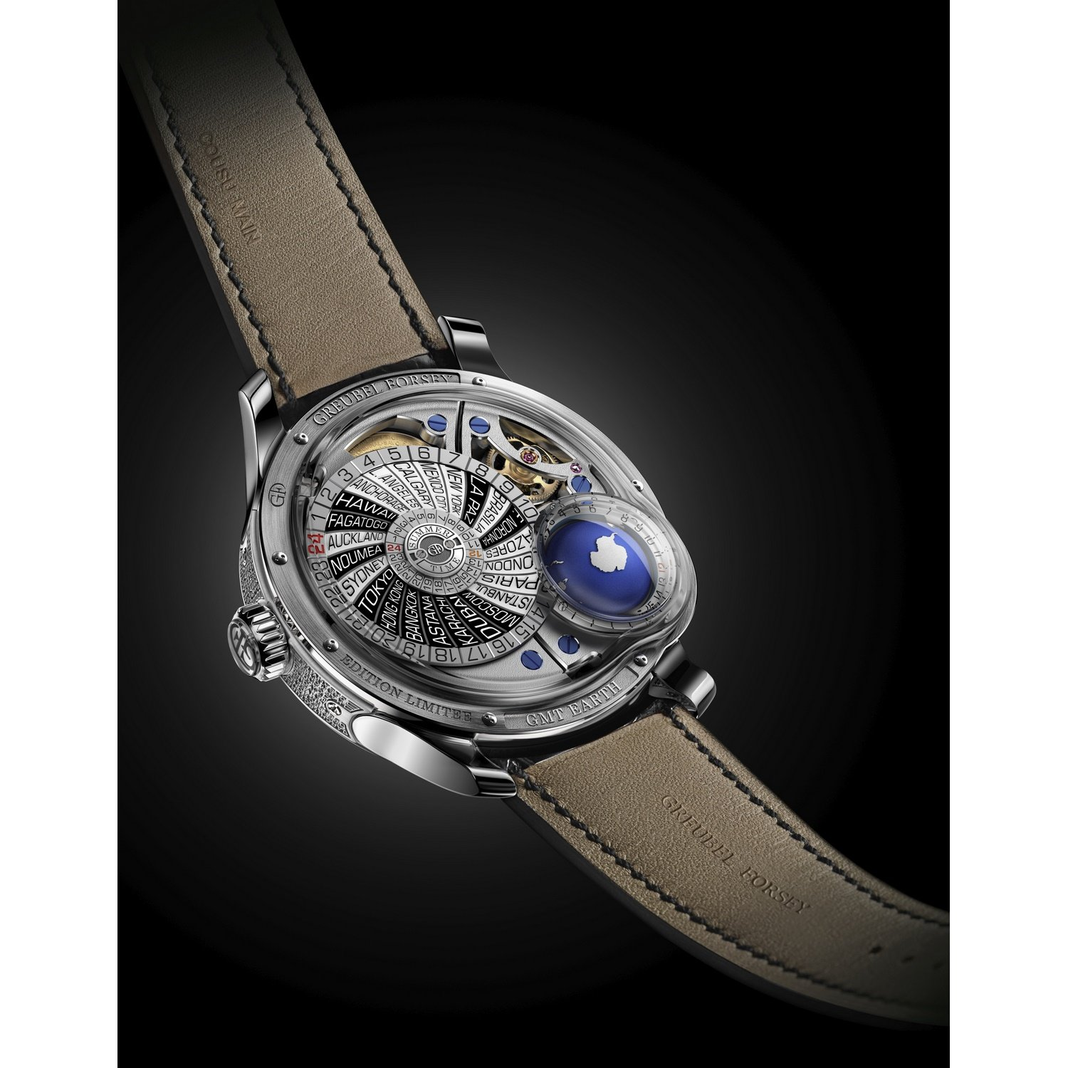 Montre Greubel Forsey GMT Earth vue 4