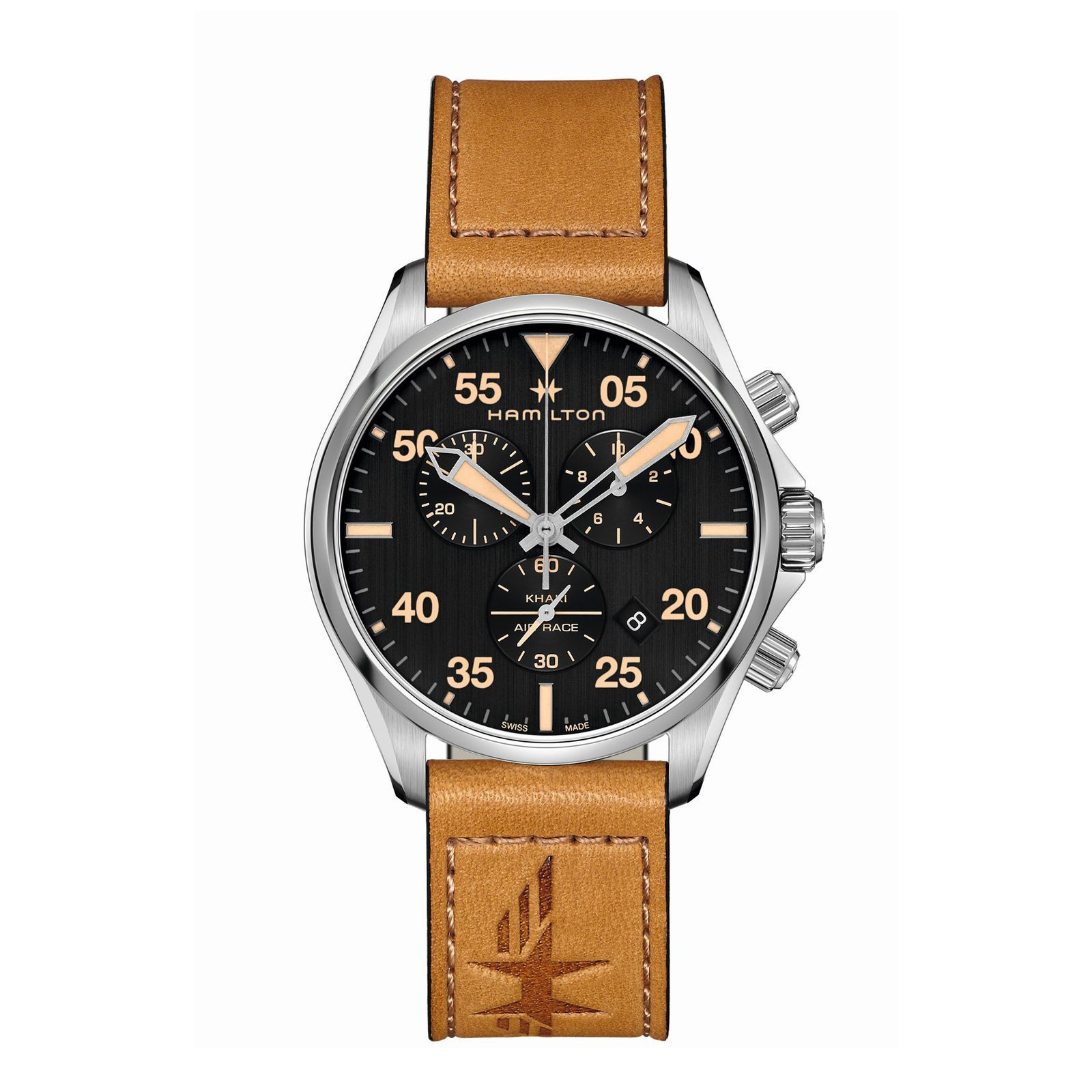 Montre Hamilton Khaki Aviation Khaki Pilot Quartz vue 1