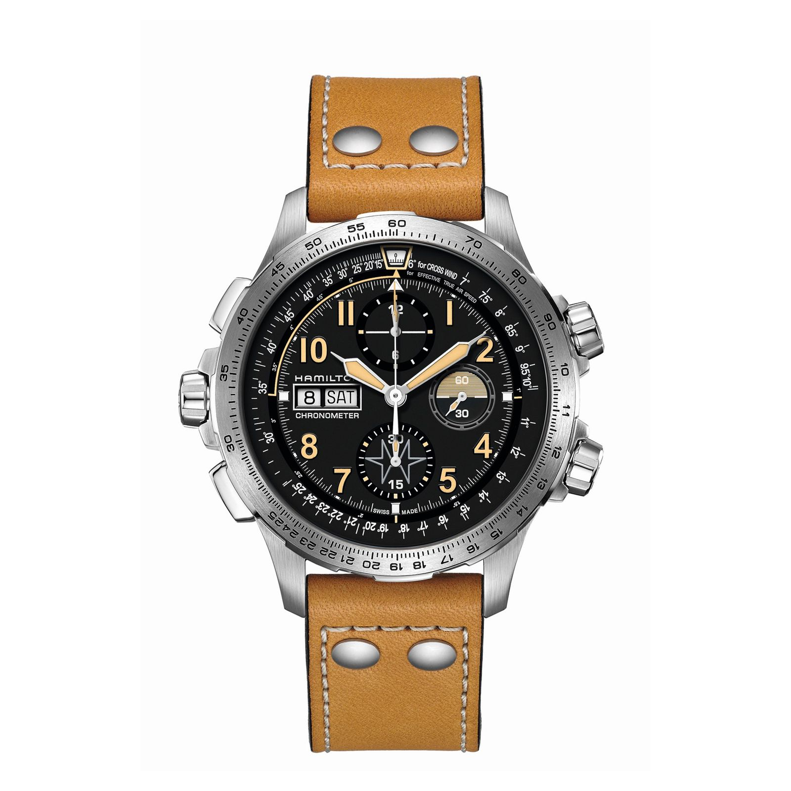 Montre Hamilton Khaki Aviation Khaki X-Wind Automatic vue 1