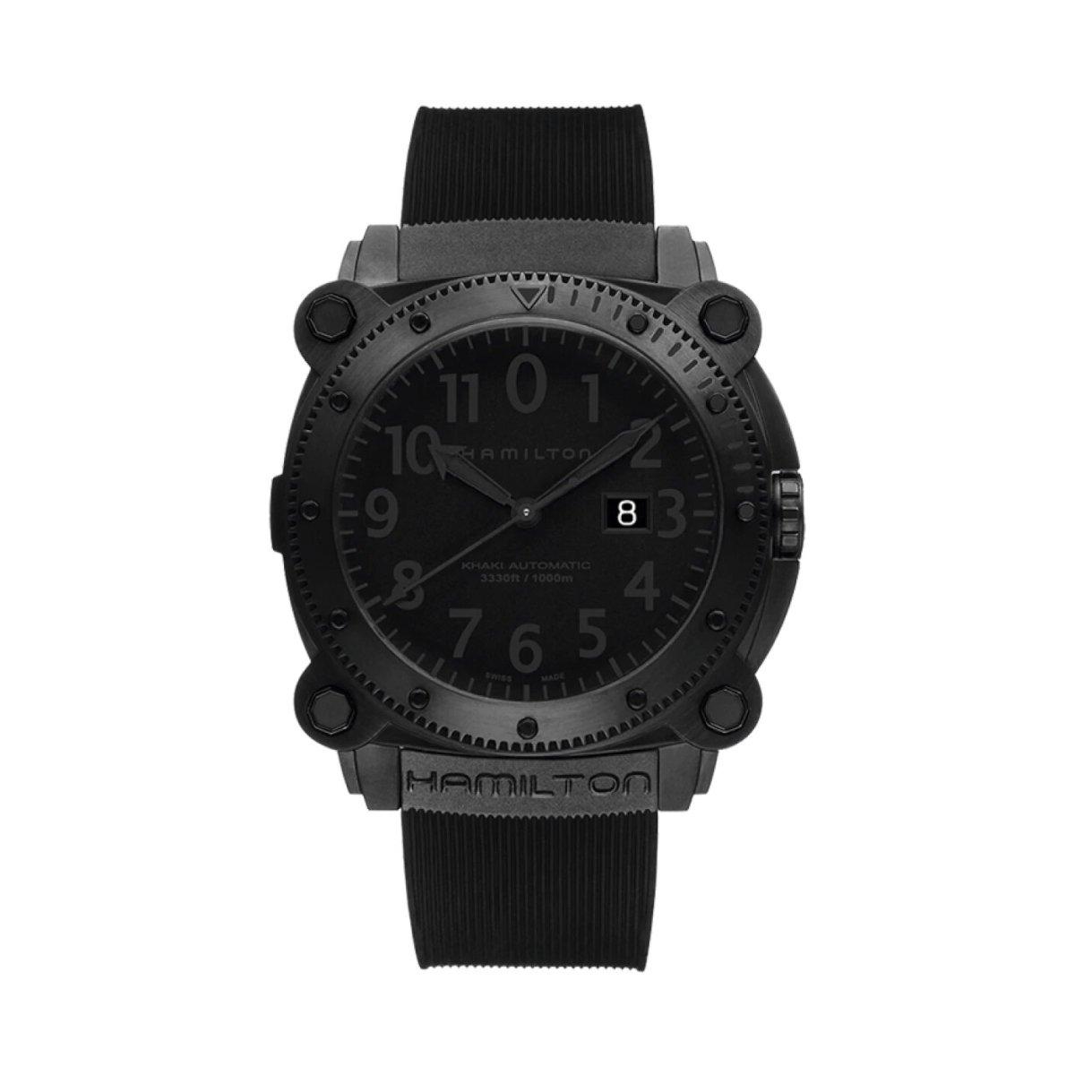 Montre Hamilton Khaki Navy Khaki BeLOWZERO Automatic vue 1