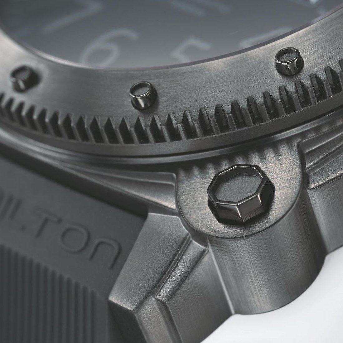 Montre Hamilton Khaki Navy Khaki BeLOWZERO Automatic vue 2
