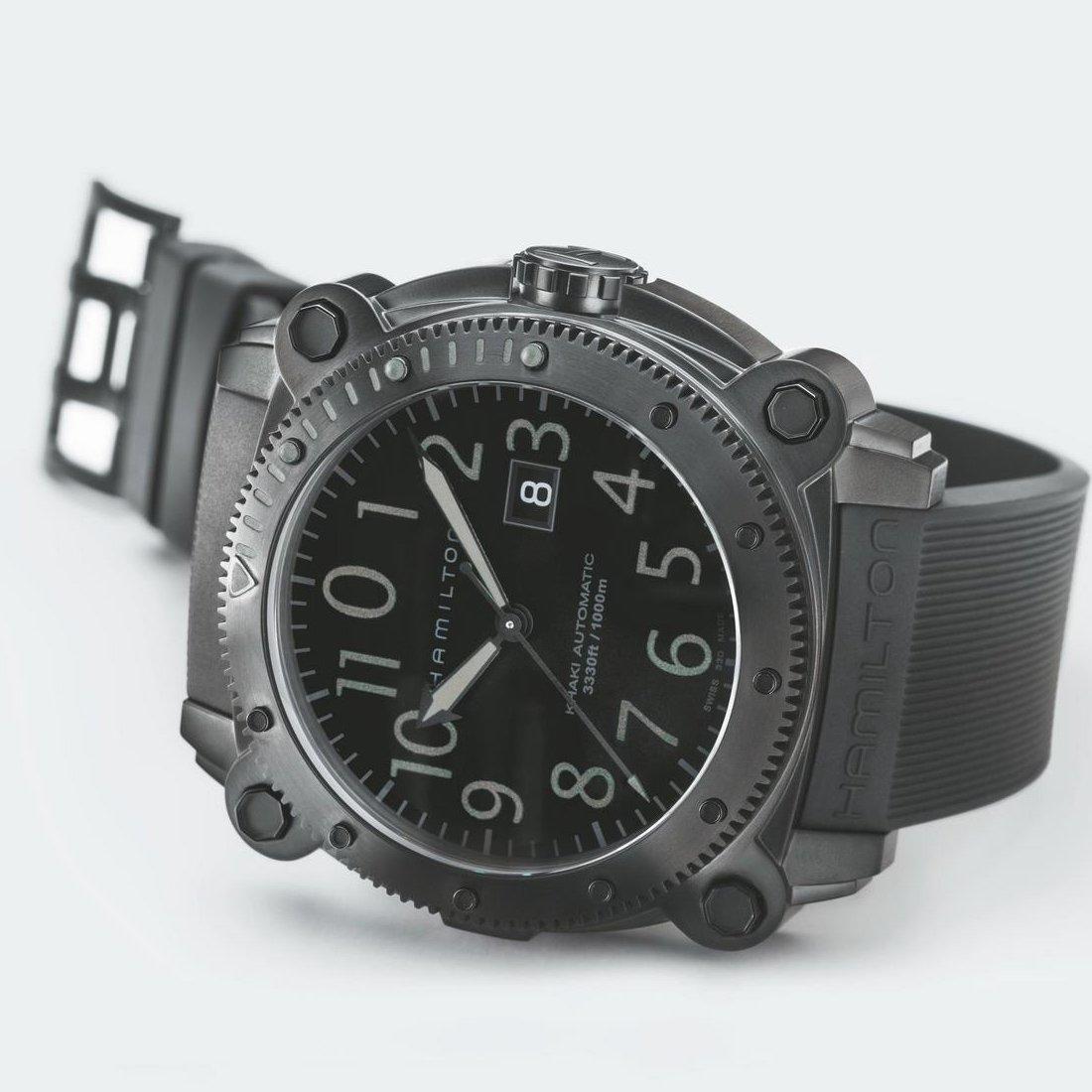 Montre Hamilton Khaki Navy Khaki BeLOWZERO Automatic vue 5