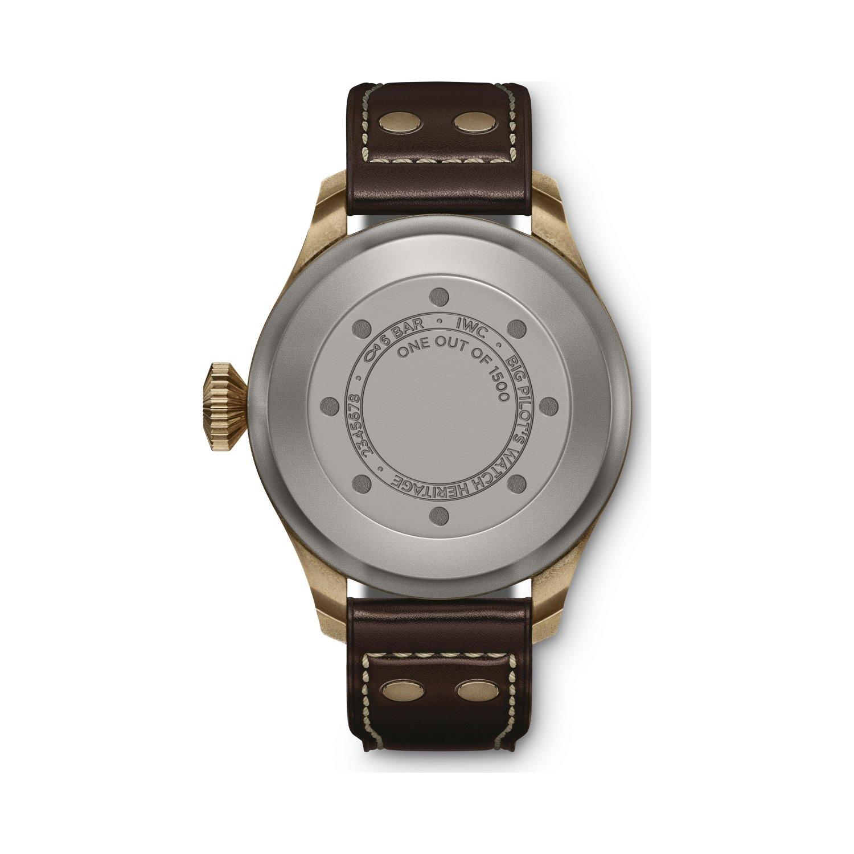 Montre d'Aviateur IWC Big Pilot's Watch Heritage vue 2