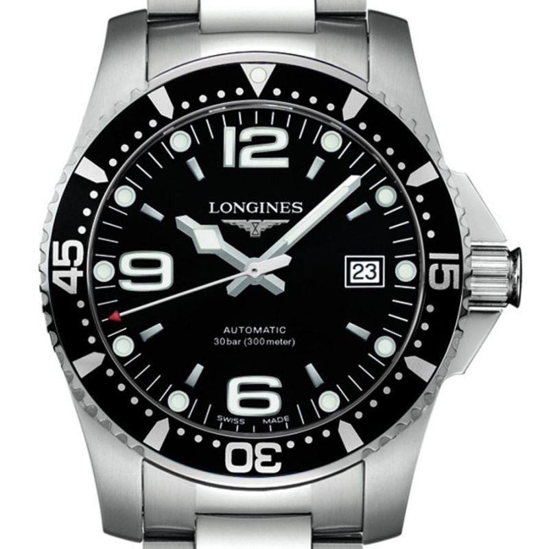 Montre Longines Hydroconquest L3.742.4.56.6 vue 2